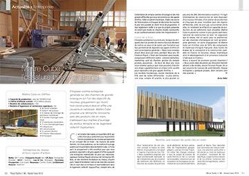 Article sur Maître Cube dans le magazine Wood Surfer N°86